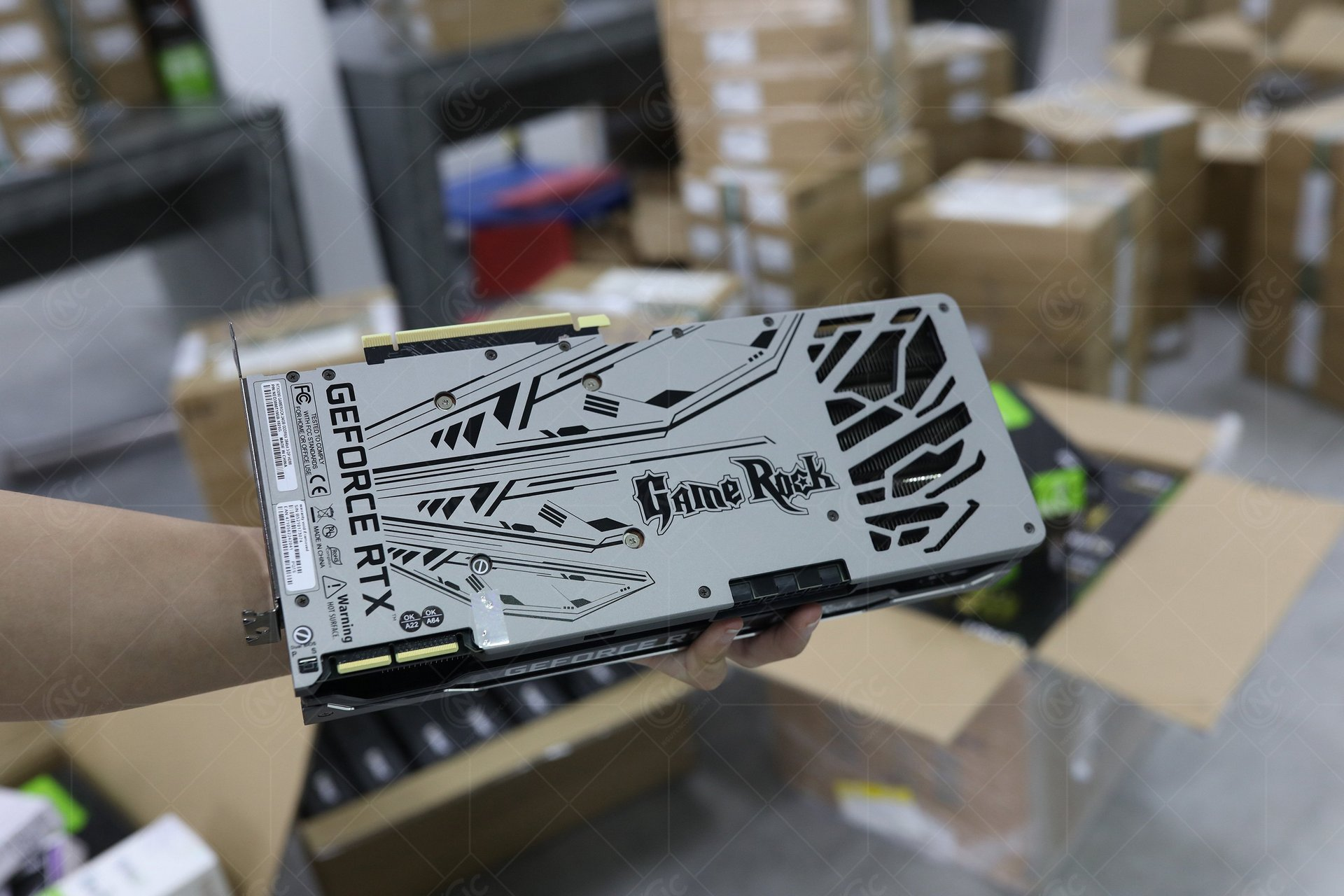 GeForce RTX 3090 GameRock Back
