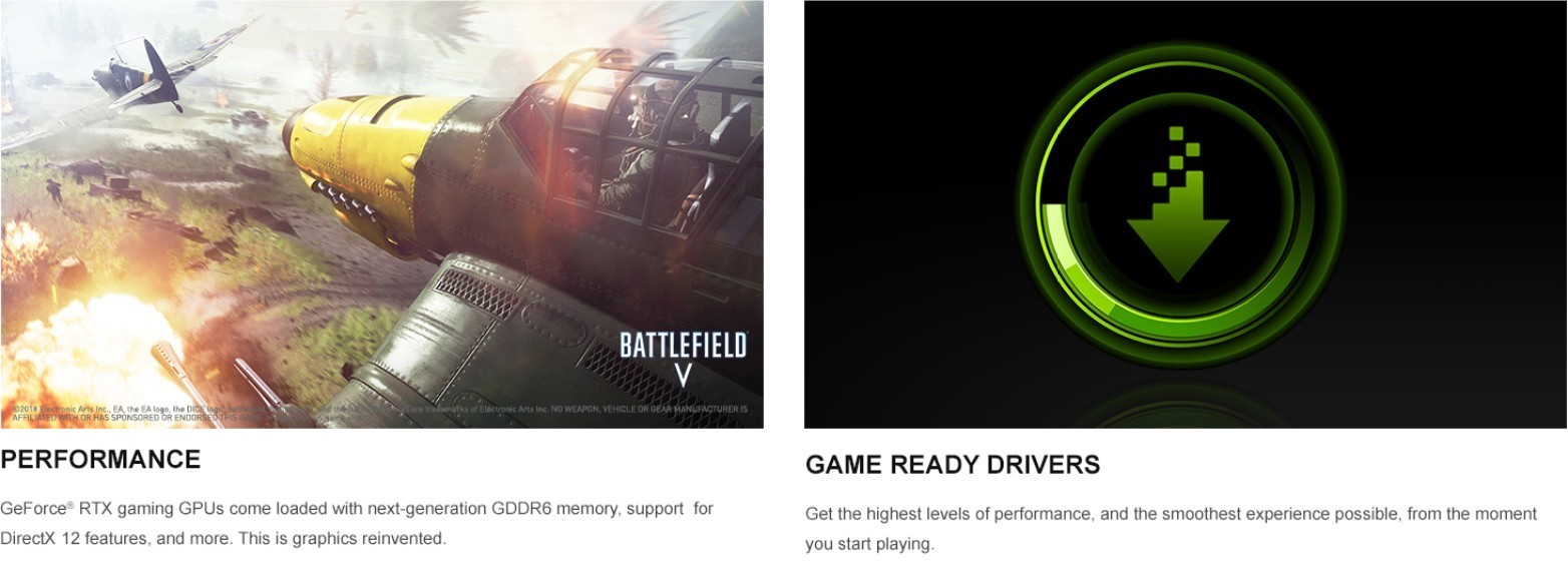 Performance - Game Ready Drivers