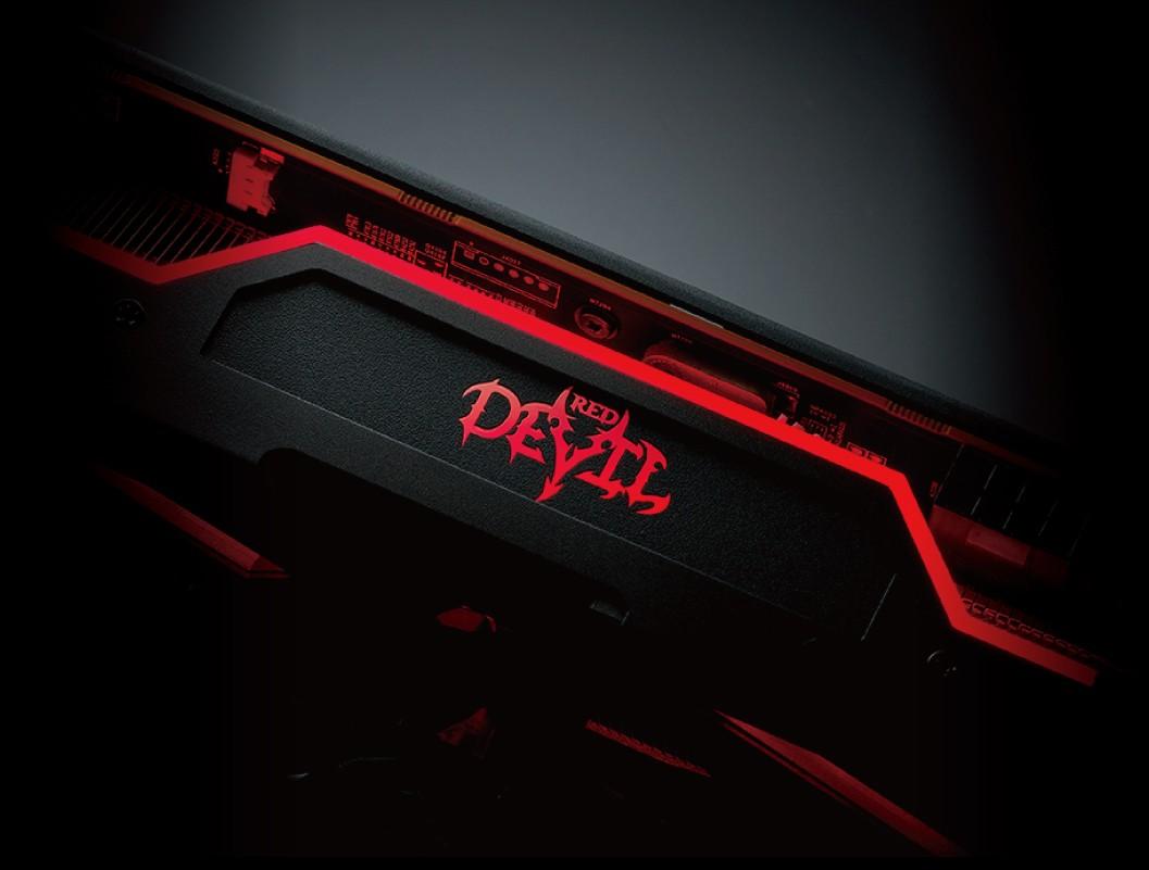 PowerColor Red Devil cung cấp màu sắc RGB