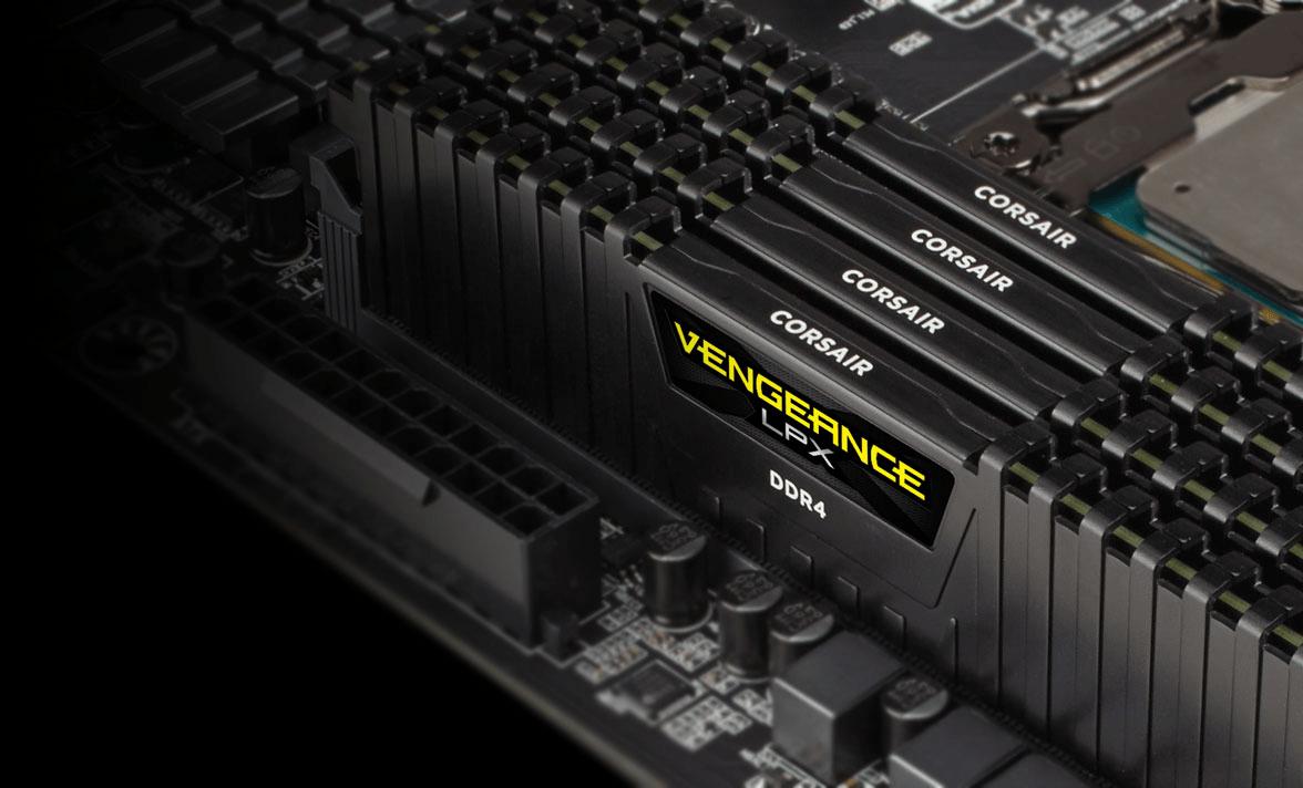 Ram DDR4 Corsair Vengeance LPX 16GB (1x16GB) 3000MHz Black