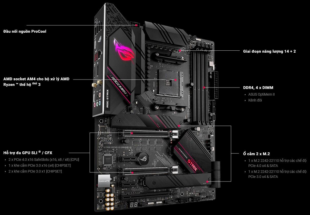 Mainboard ASUS ROG STRIX B550-E GAMING