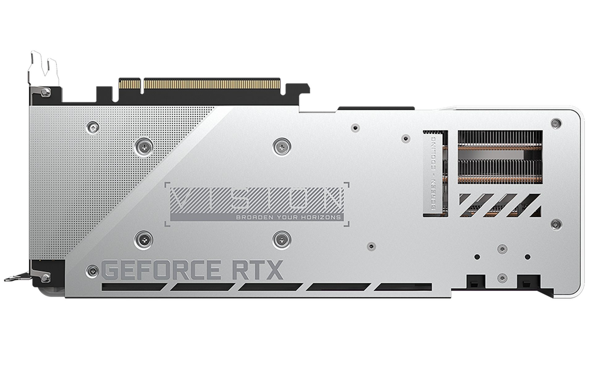 GeForce RTX 3070 VISION OC 8G back