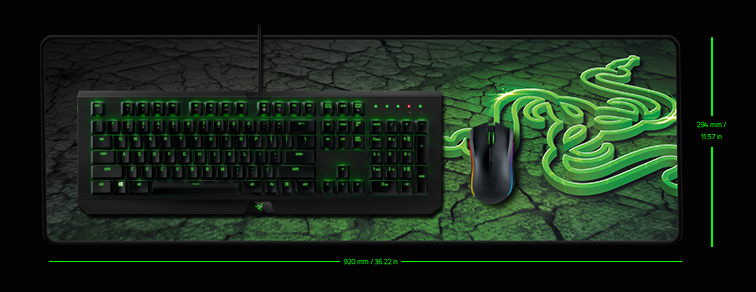 Razer Goliathus Control Fissure Edition Soft Extended