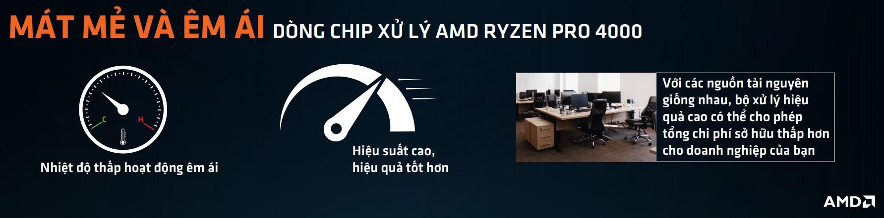 Hiệu năng CPU AMD Ryzen 7 Pro 4750G