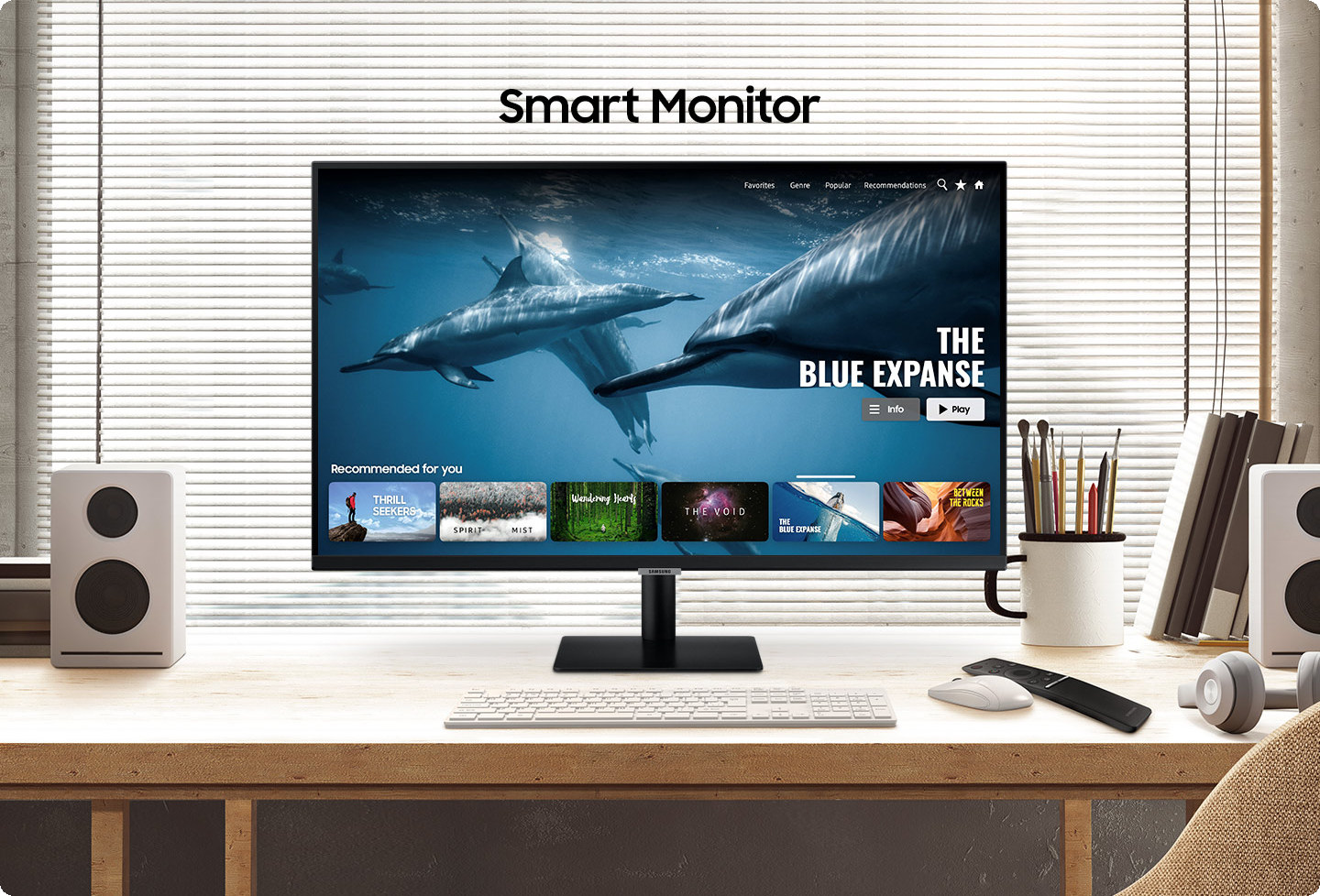 SAMSUNG Smart Monitor LS27AM500
