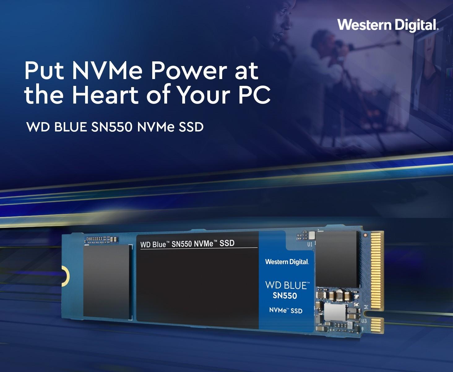 SSD Western SN550 Blue 250GB M.2 2280 PCIe