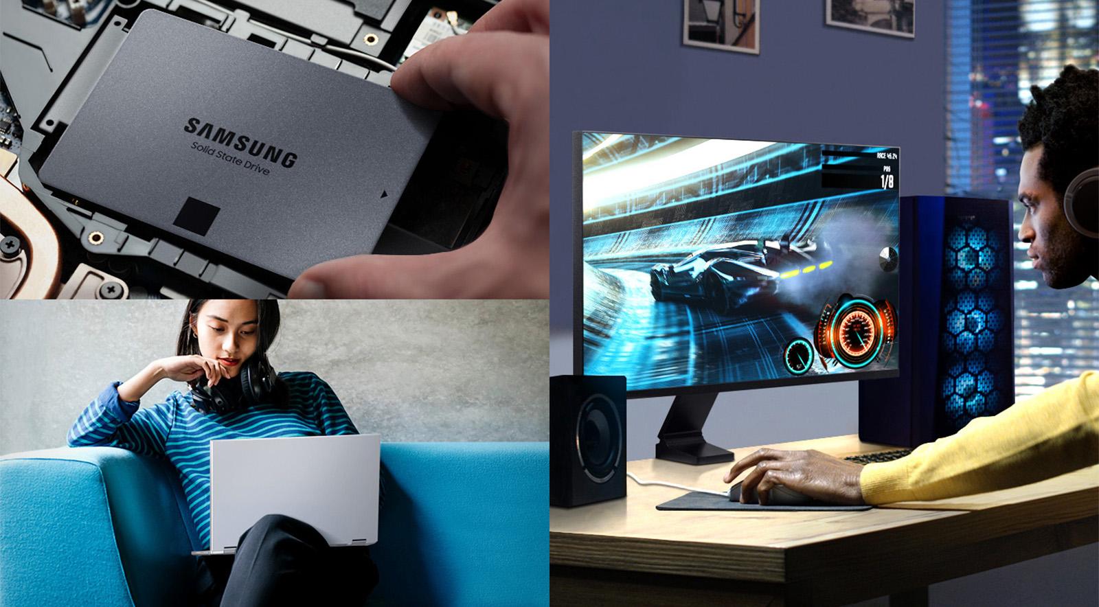 Nâng cấp lên Samsung 870 QVO 1TB giờ đây dễ dàng