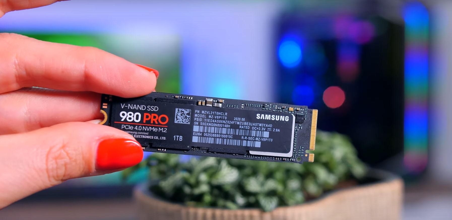 Ổ cứng SSD Samsung 980 PRO 1TB PCIe 4.0 M.2 NVMe