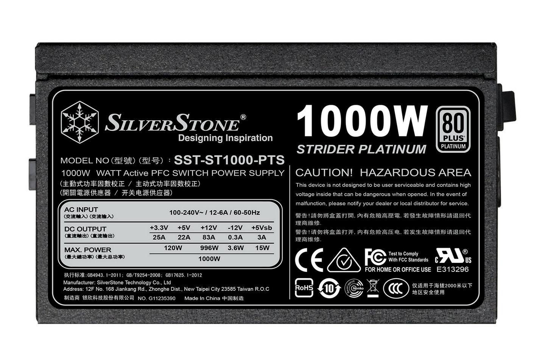 SilverStone Strider Platinum 1200W