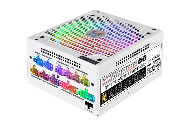 Super Flower LEADEX III Gold ARGB 650W LED 16 chế độ