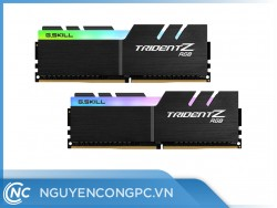 RAM G.Skill TRIDENT Z RGB 32GB (2x16GB) Bus 3200MHz C16