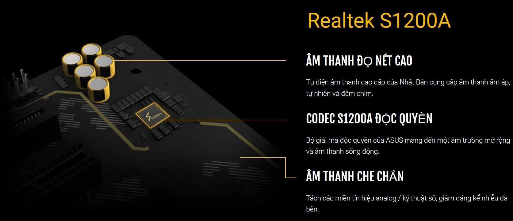 Bộ giải mã Realtek S1200A