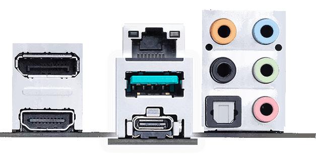 USB 3.2 Gen 2 Type-A và Type-C