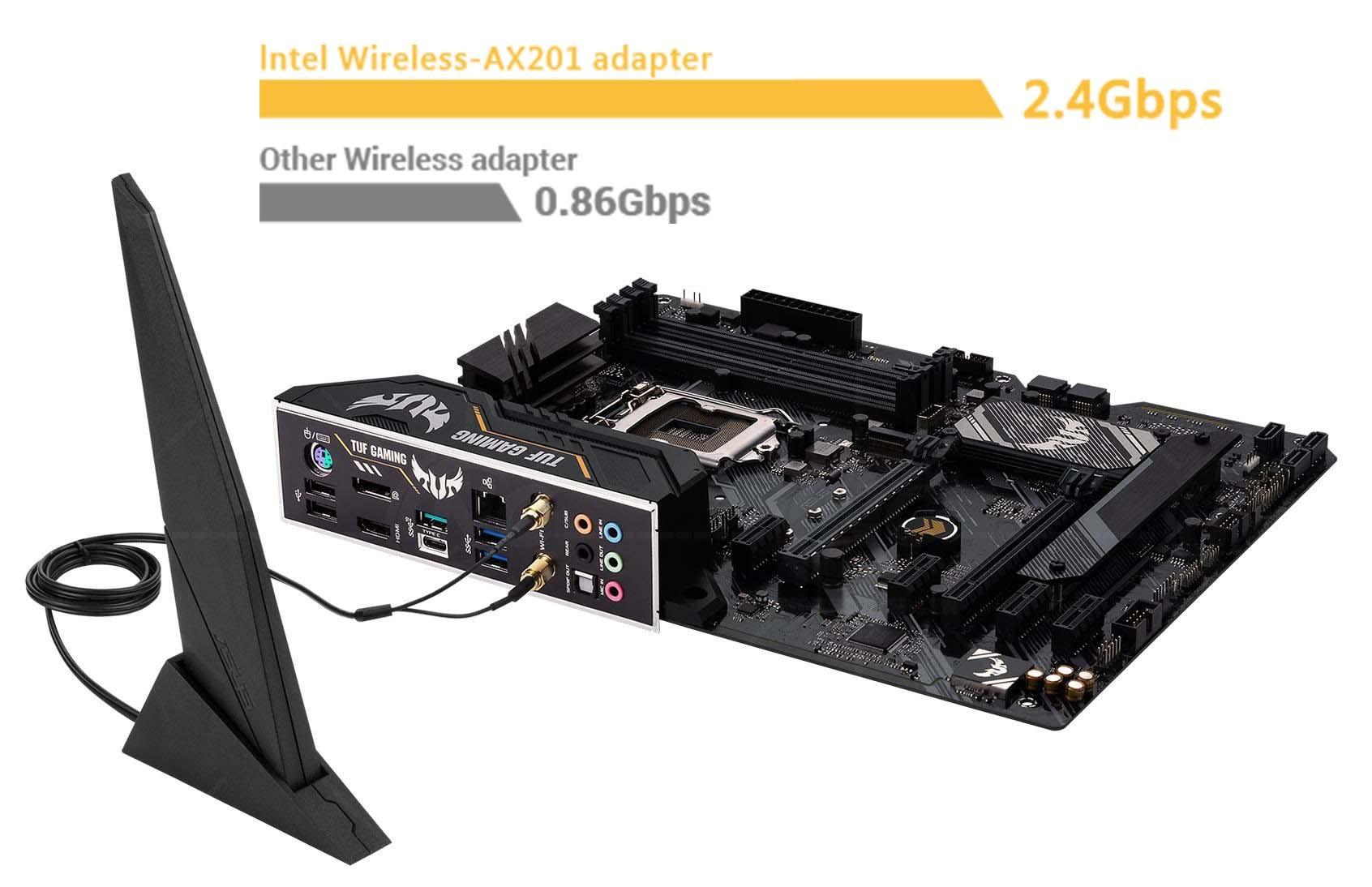 Intel® WiFi 6 AX201