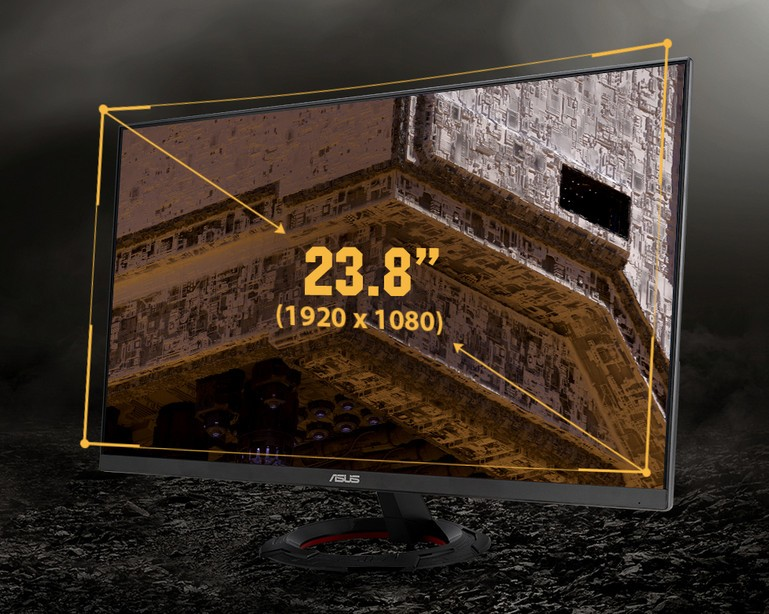 Bảng điều khiển của TUF Gaming VG249Q1R