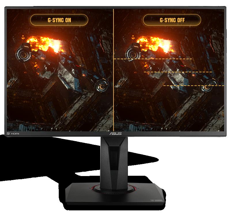 ASUS TUF VG259QM Gaming tương thích với NVIDIA G-SYNC
