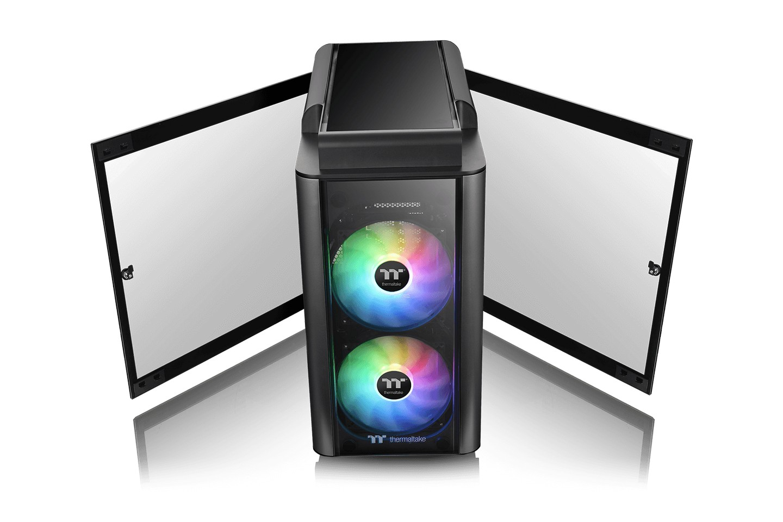 Level 20 GT ARGB Black Edition kính cường