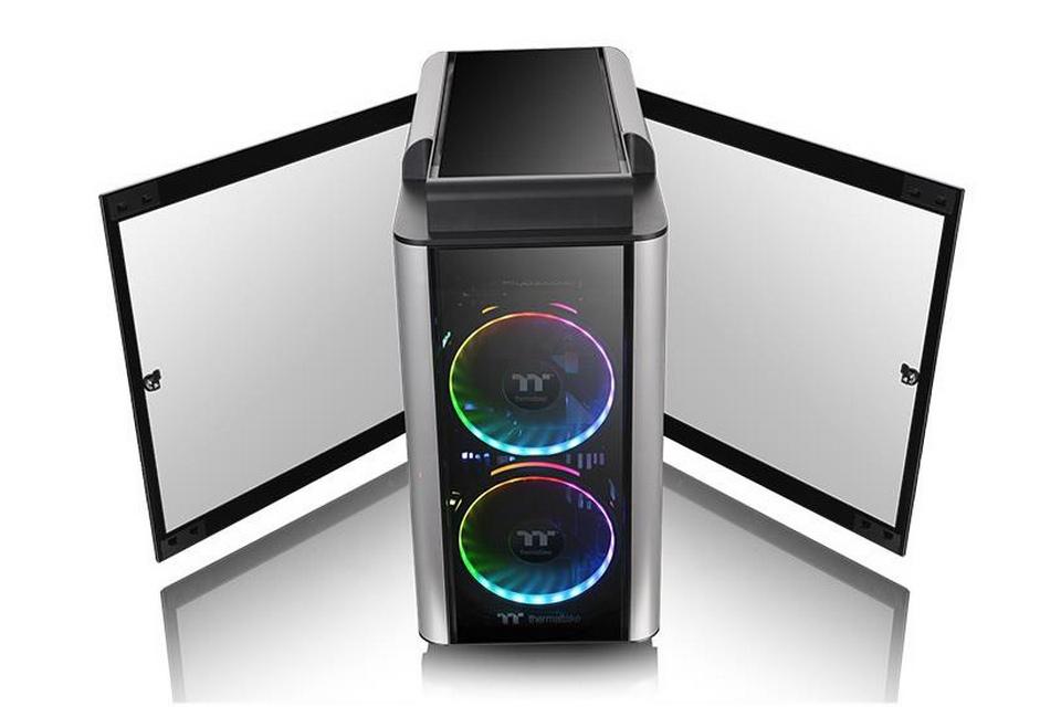Thermaltake Level 20 GT RGB Bốn tấm kính cường lực