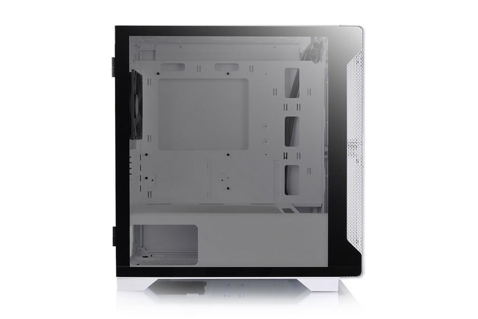 Cửa sổ kính cường lực 3mm ở mặt bên của Thermaltake S100 TG Snow