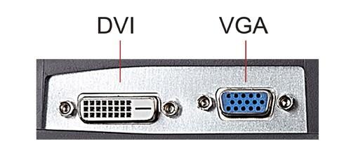 Đầu vào DVI và VGA