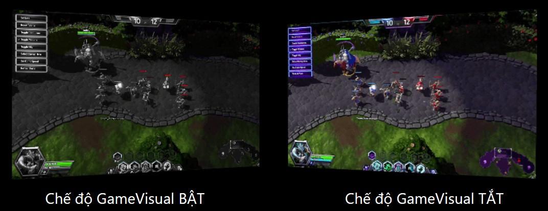 Công nghệ GameVisual độc quyền của ASUS
