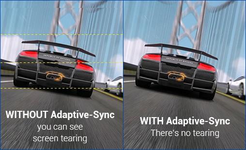 Công nghệ Adaptive-Sync cho trải nghiệm chơi game mượt mà