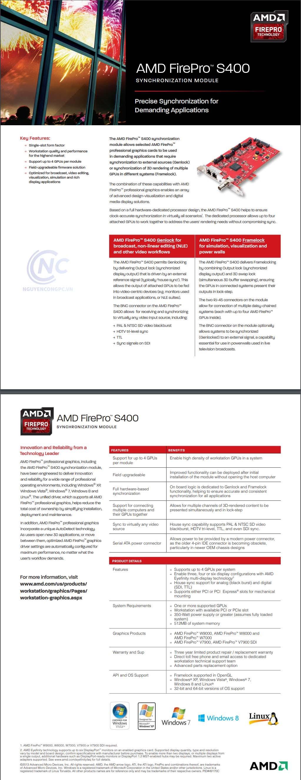 AMD FirePro S400