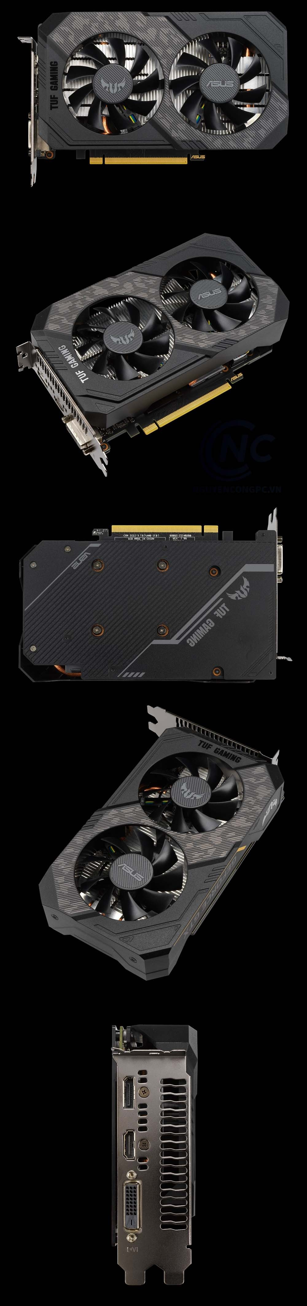 TUF Gaming GTX 1650 Super 4G GDDR6