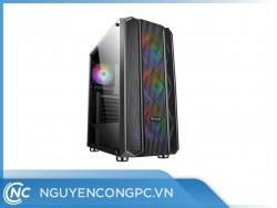 Vỏ máy tính Vitra NEFERTITI Q1 (E-ATX Kèm 3 Fan Dual Ring)