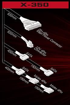 XIGMATEK X-POWER X-350 EN40544 Connect