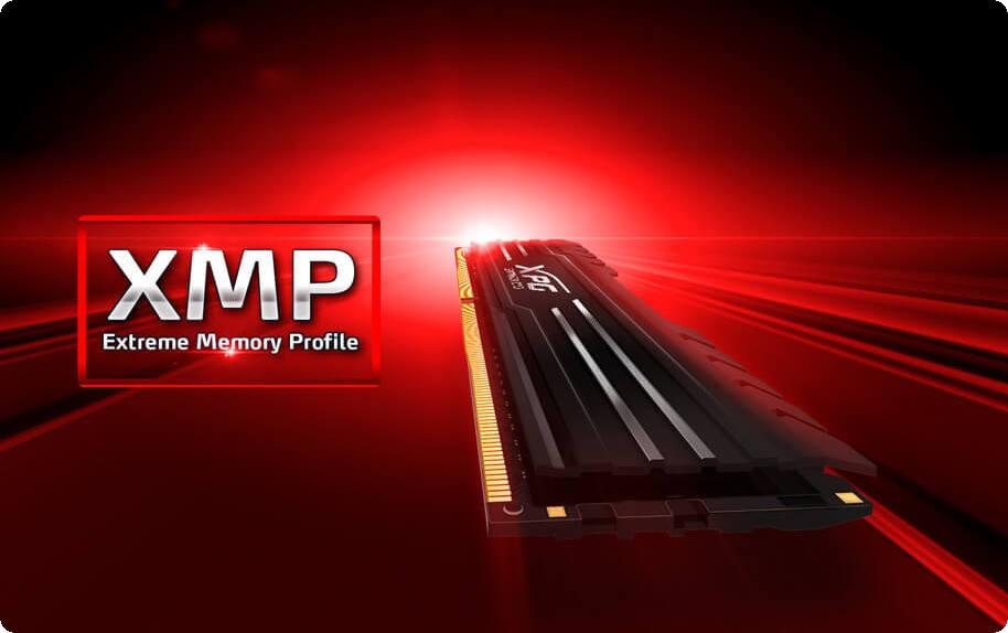 XPG GAMMIX D10 16GB hỗ trợ của Intel XMP