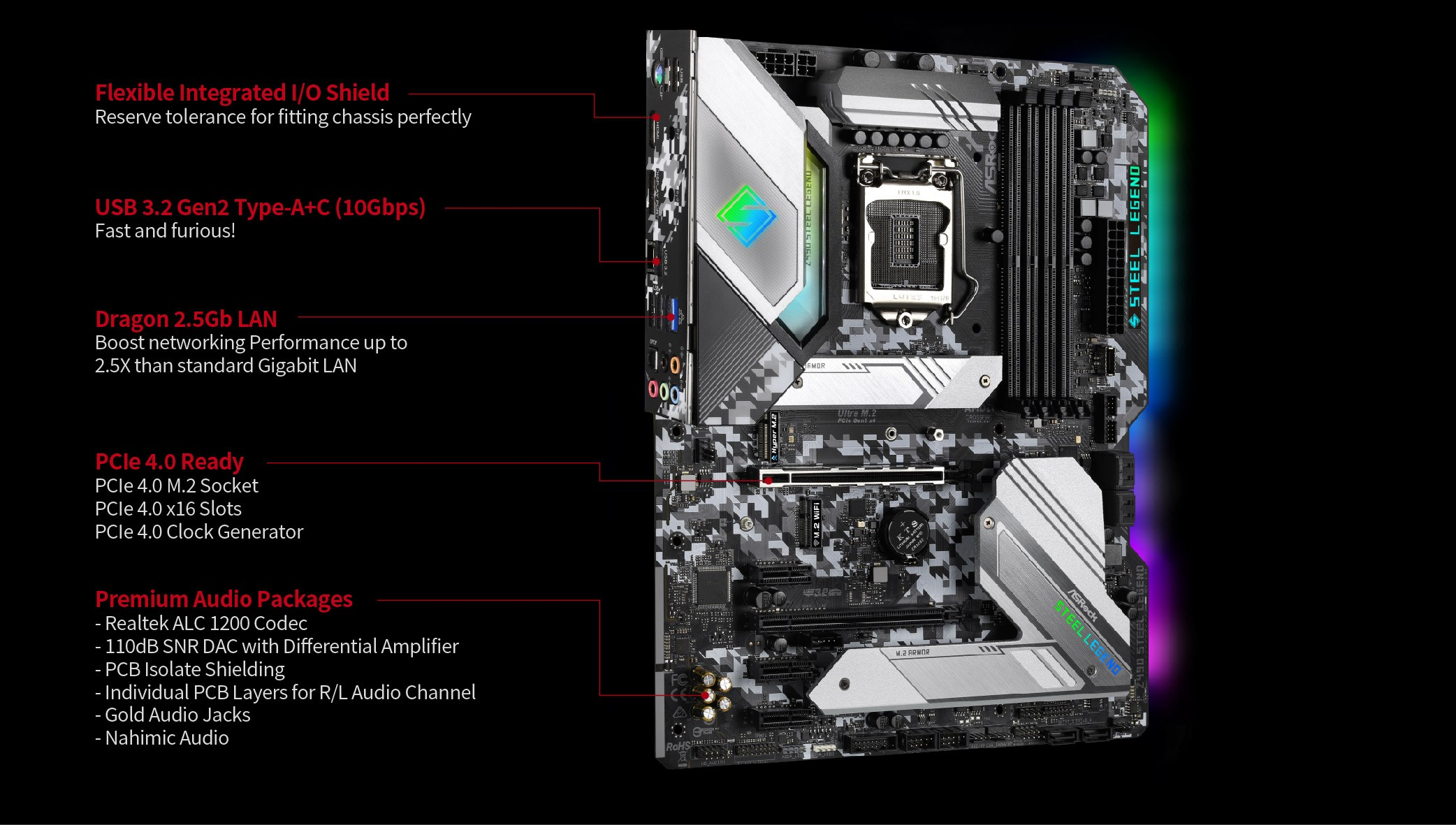 Asrock Z490 Steel Legend 3