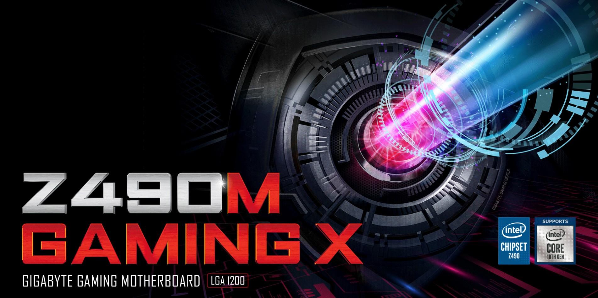 Mainboard Gigabyte Z490M GAMING X