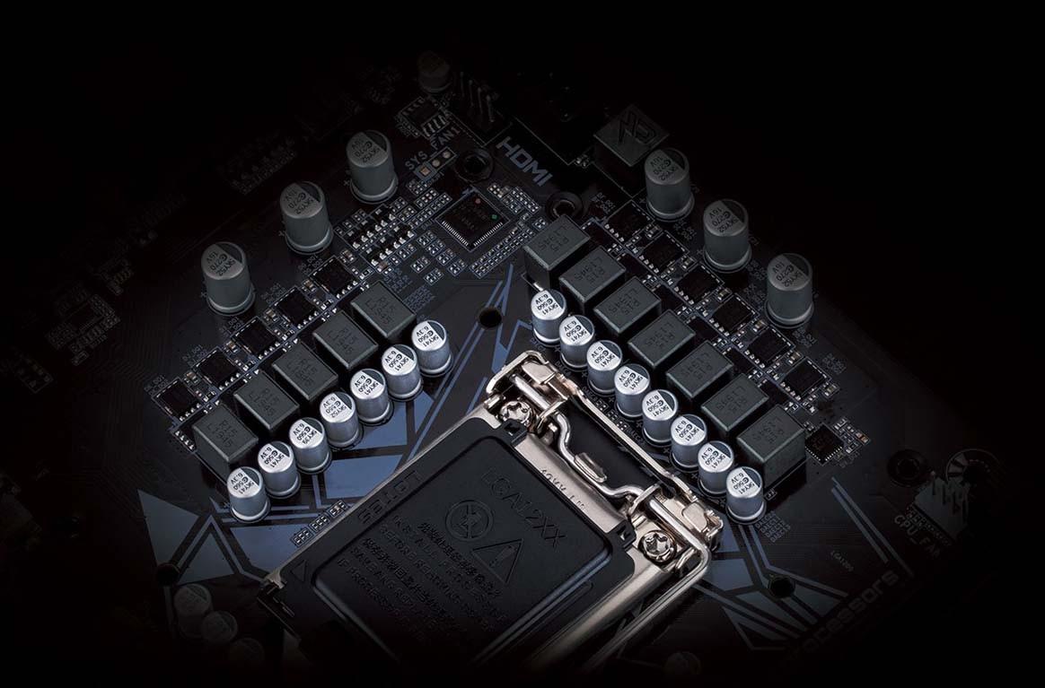 Z490M GAMING X sử dụng một 11 + 1 phase