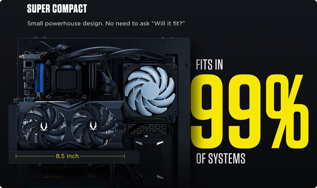 Card Đồ Họa ZOTAC GAMING GeForce GTX 1660 Twin Fan
