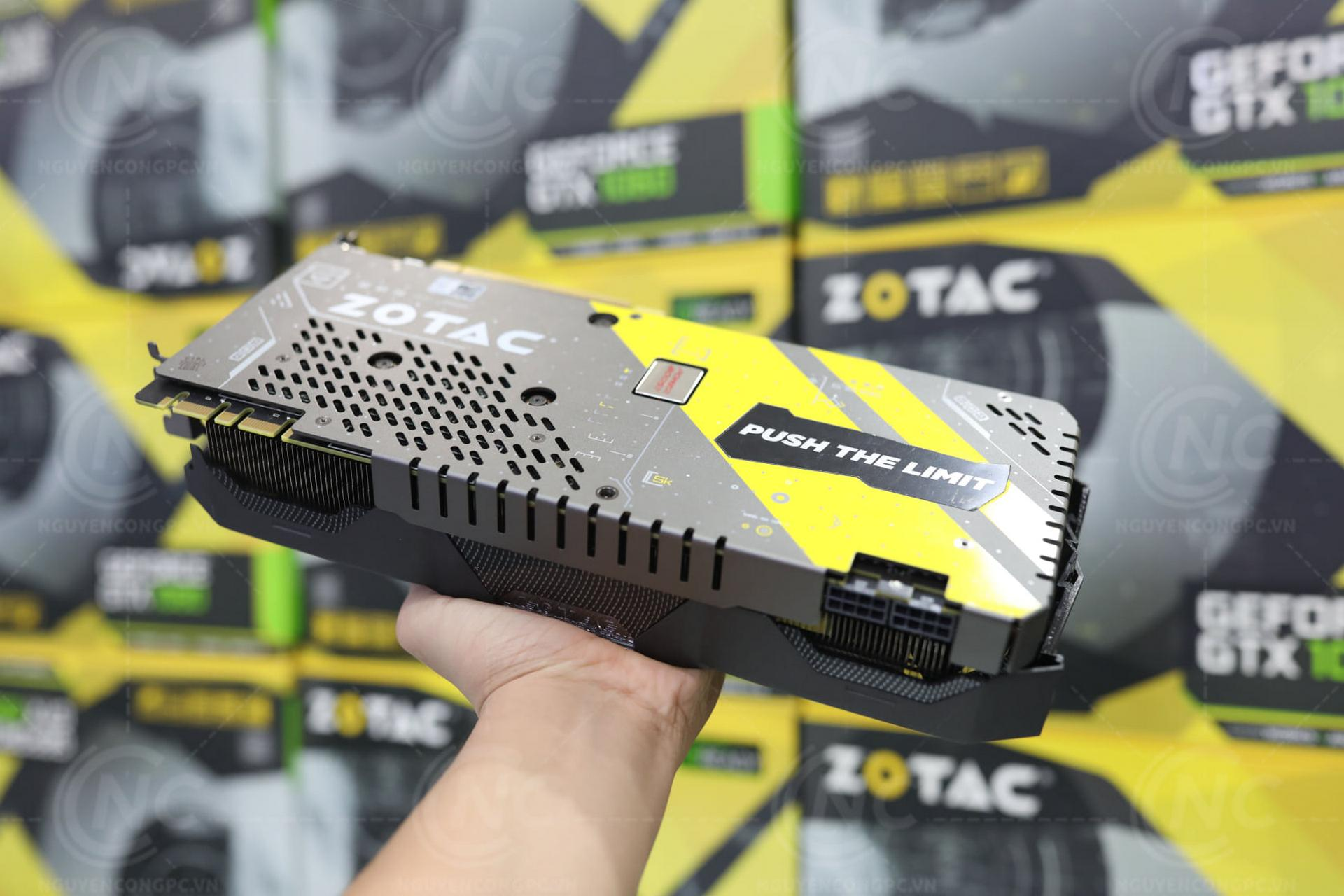 GTX 1060 AMP Extreme Backplate
