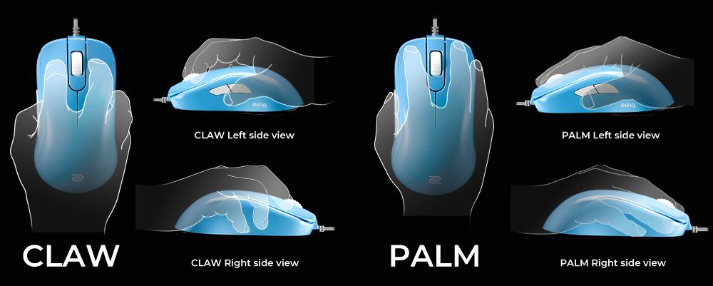 Thiết kế tổng thể ngắn hơn với hỗ trợ lòng bàn tay nâng cao