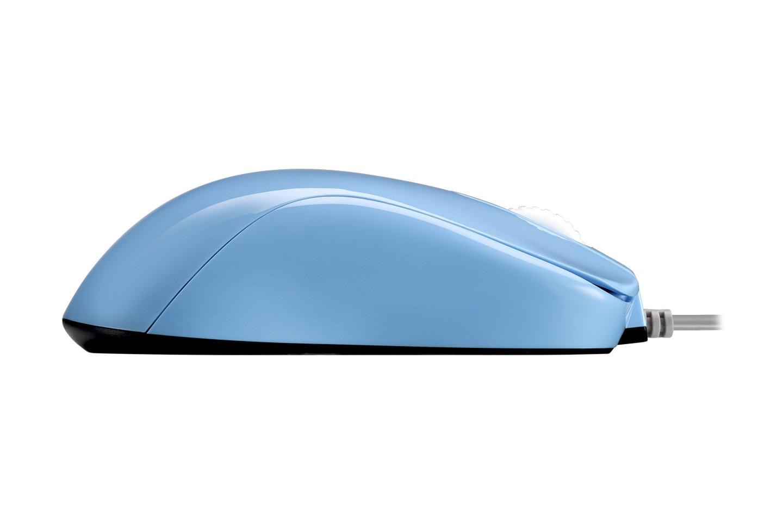 thiết kế trơn tru và liền mạch của Zowie S1 Blue