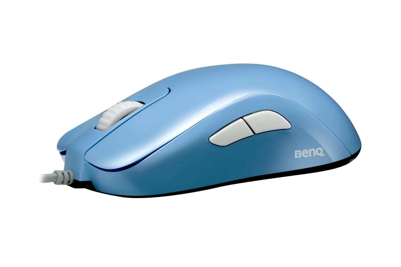 Chuột Zowie S2 Divina Blue cung cấp thiết kế không cần trình điều khiển