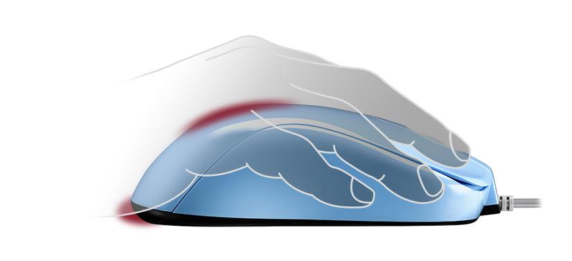 Zowie S2 Divina Blue cung cấp khả năng hỗ trợ lòng bàn tay