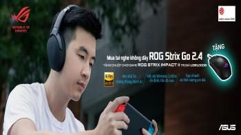 Nhận quà chất khi mua tai nghe không dây ROG Strix Go 2.4