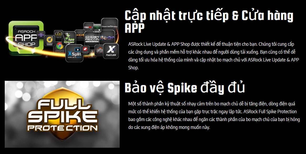 Asrock Z490M Pro4 App & Spike