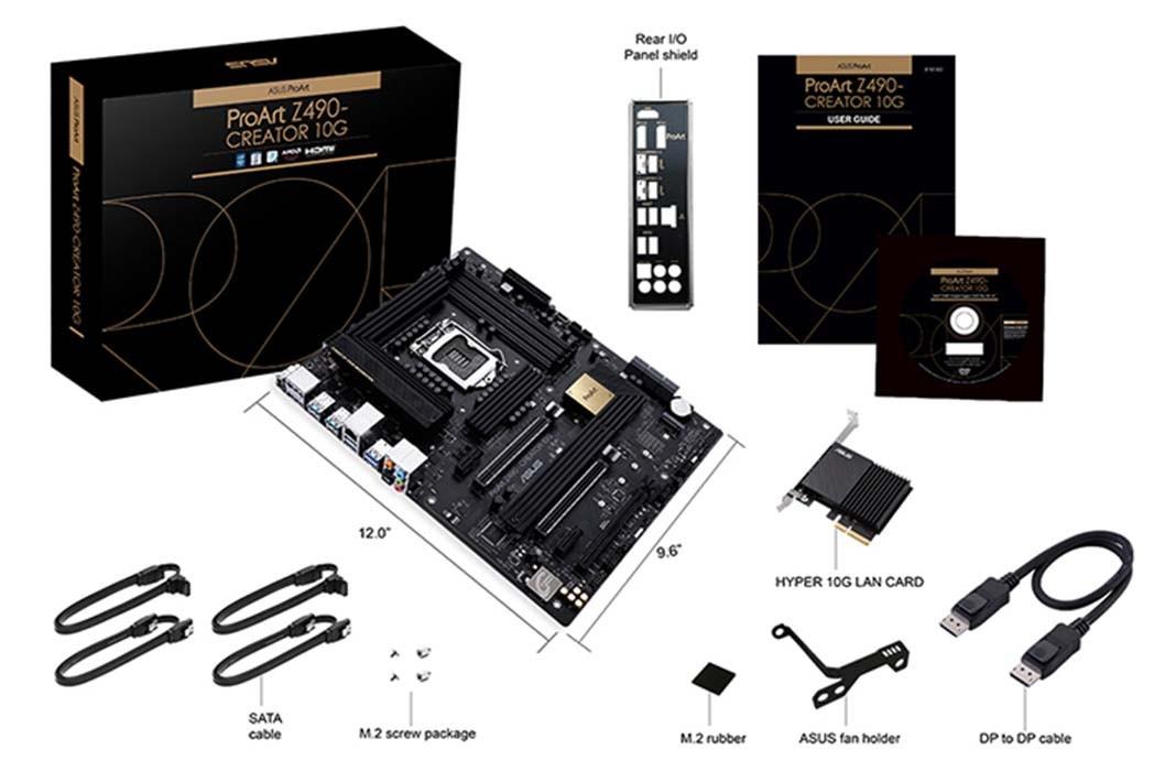 ASUS ProArt Z490-CREATOR 10G đã được thiết kế và kiểm tra nghiêm ngặt
