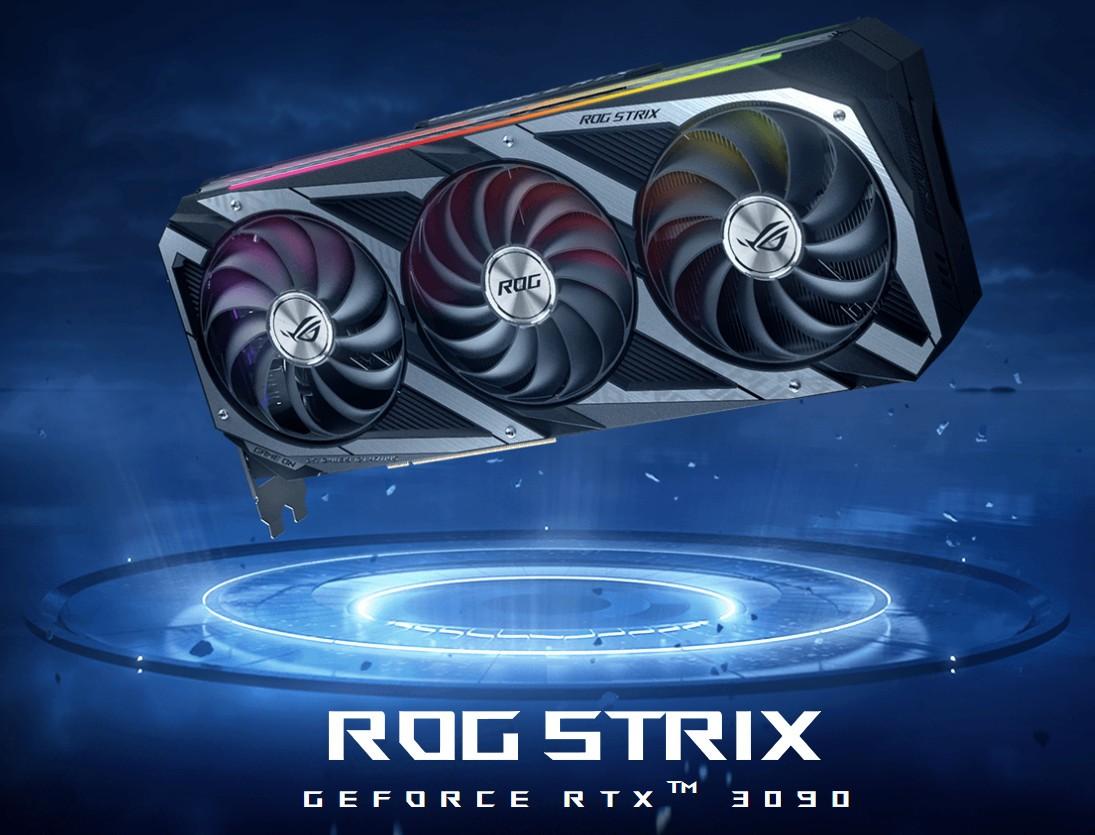 VGA ASUS ROG STRIX RTX 3090 24G GAMING