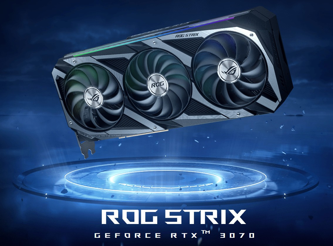 VGA ASUS ROG STRIX RTX 3070 8G GAMING