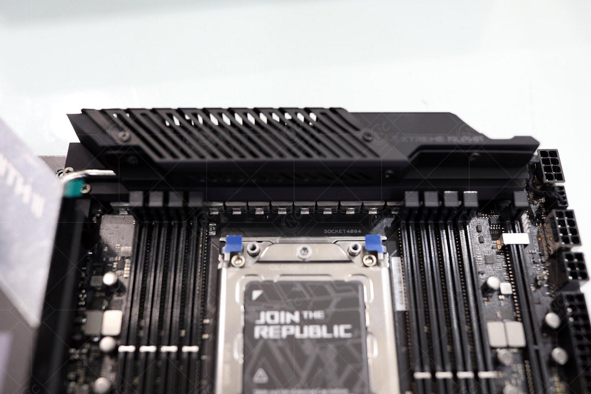 ROG Zenith II Extreme Alpha VRM