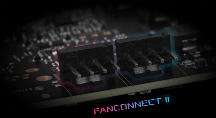 hai đầu cắm PWM FanConnect II