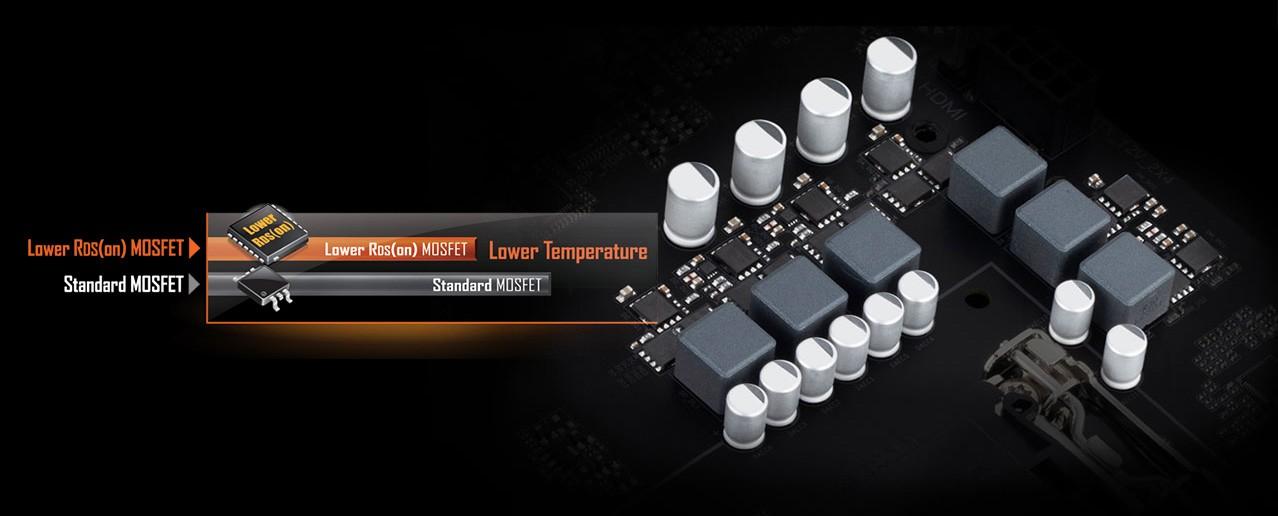 thiết kế kỹ thuật số 4 + 2 Hybrid + Low RDS
