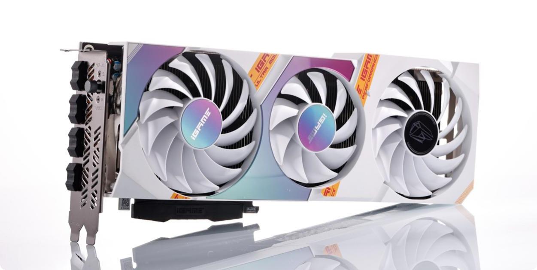 Card đồ họa Colorful iGame GeForce RTX 3060 Ti Ultra OC White 8G-V