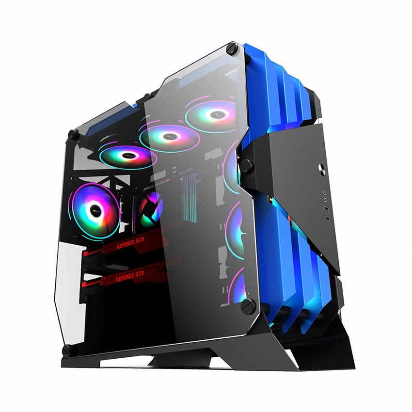 Vỏ máy tính Case SAMA TG-03 Blue